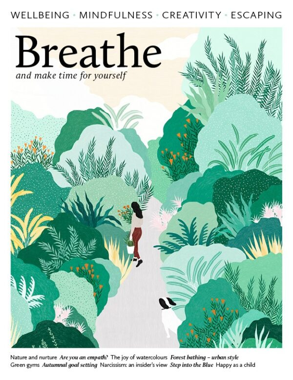 Breathe magazine issue 15 cover