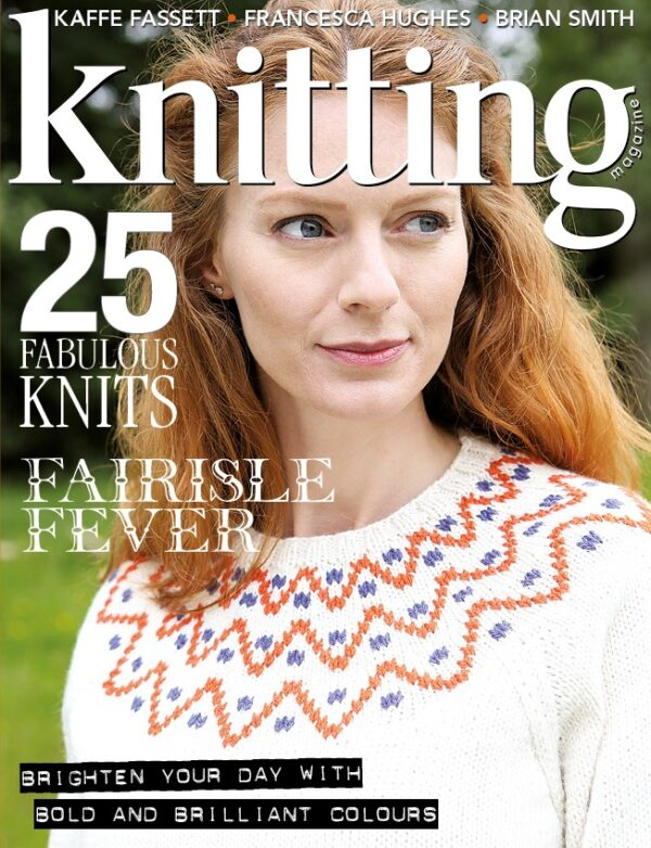 Knitting magazine 185 Cover