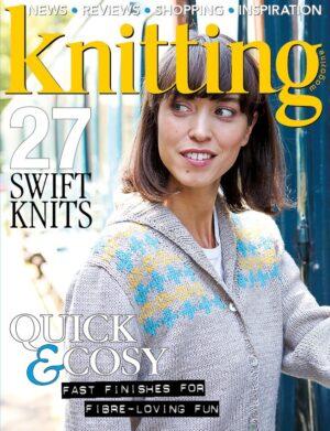 knitting 186 cover