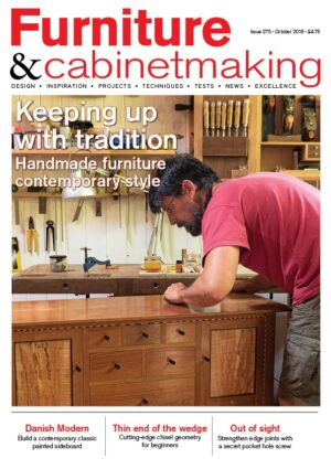 Furniture and Cabinetmaking 275 cover
