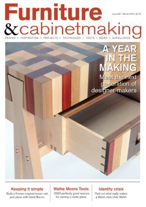 Furniture and Cabinetmaking 281 issue cover