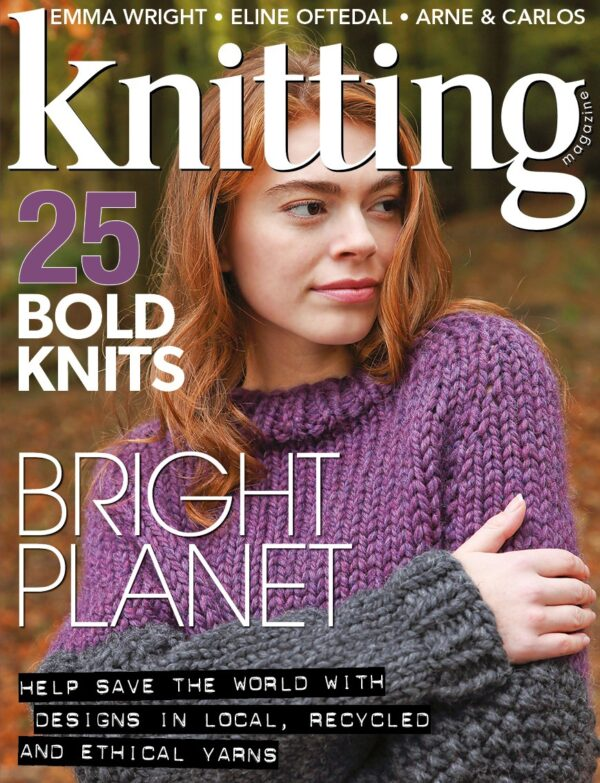 Knitting magazine issue 190 cover
