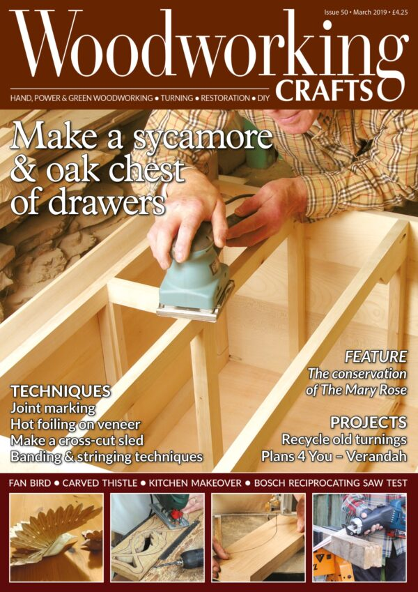 Woodworking Crafts issue 50 cover