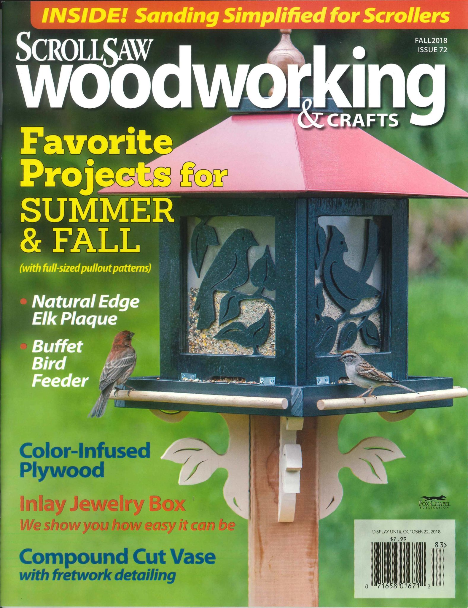 Scrollsaw Woodworking Crafts Magazine Subscribe Gmc Publications