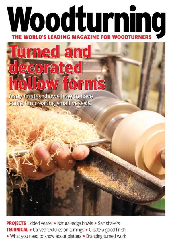 Woodturning 328 cover