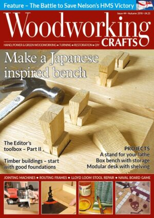 Woodworking Crafts Issue 44 cover