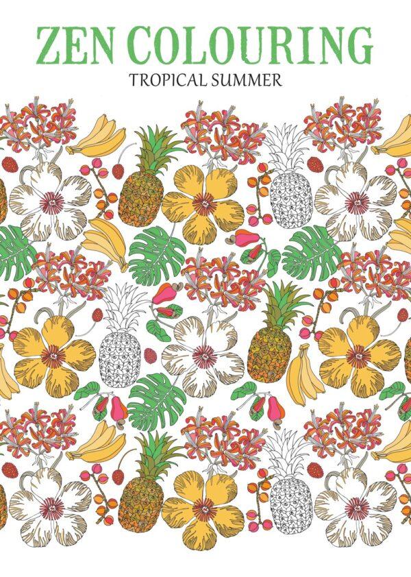 Zen Colouring cover