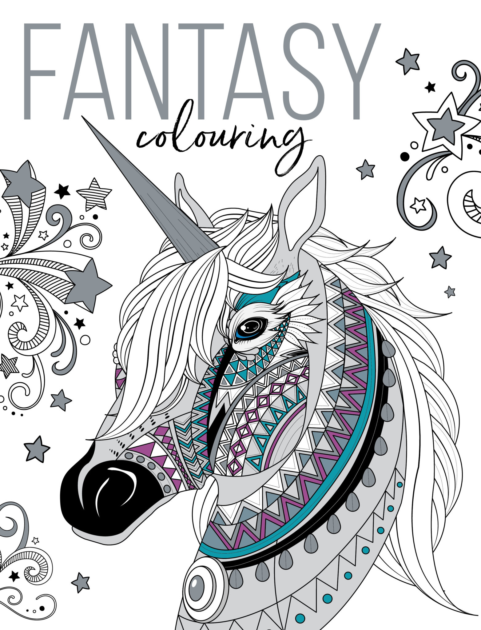 Fantasy Colouring - Buy Now - GMC Publications - Mindfulness