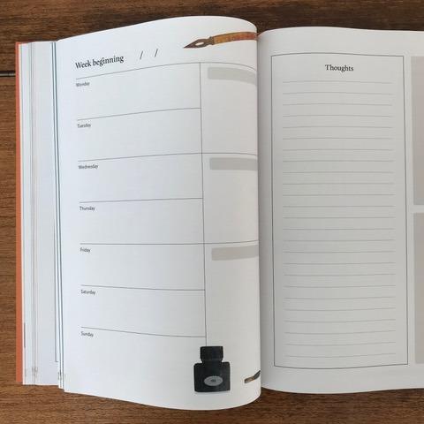 Breathe Journal page inside C