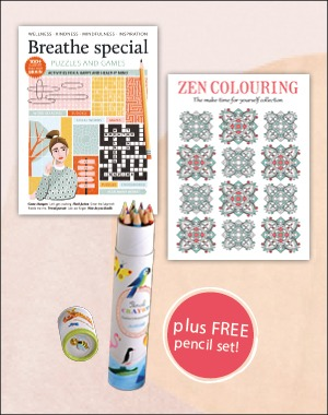 Value pack breathe zen colouring