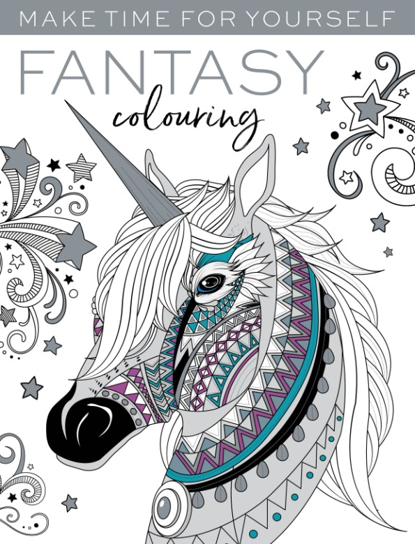 Fantasy Colouring make time