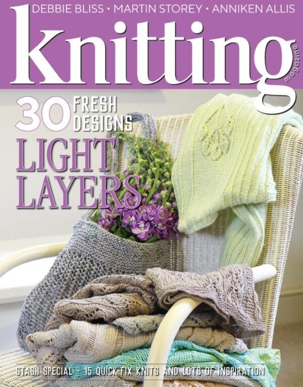 209 knitting magazine August