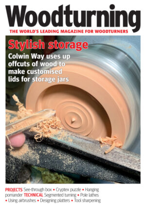 Woodturning magazine issue 348