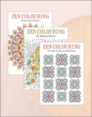 Zen Colouring back issues 41 42 43