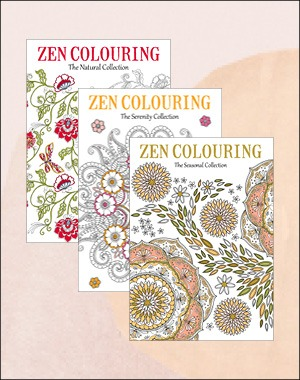 Zen Colouring back issues 44 46 47