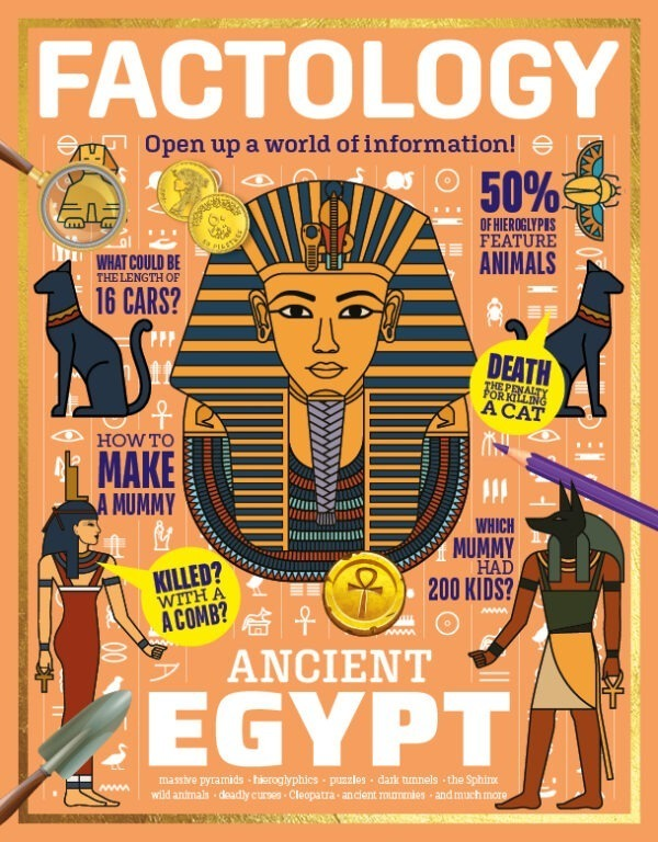 Factology Magazine for Kids - issue 5 Ancient Egypt