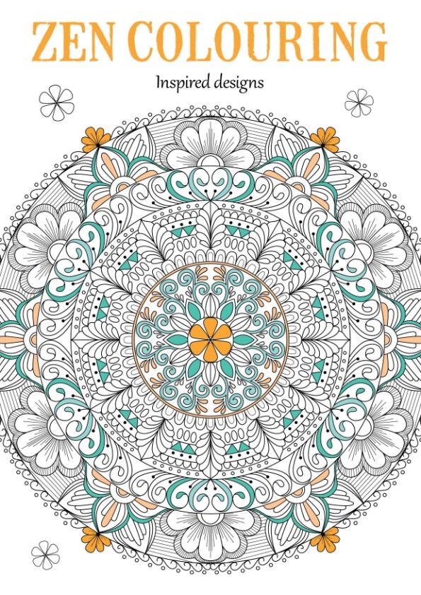 Zen Colouring Inspired designs 51