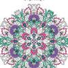Zen colouring 52 springtime designs