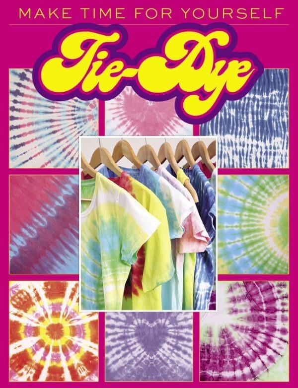 Tye Dye book magazine