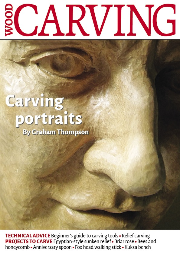 Woodcarving Magazin Issue 183 Carving Portraits